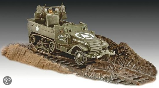 Revell Bouwdoos M16 Halftrack Wagen