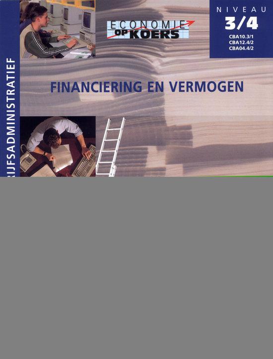 Eok Cba 3/4 Financiering En Vermogen