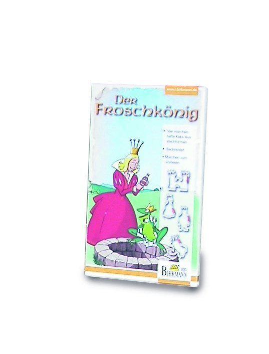 Birkmann Uitsteekvormpjes Sprookjesset Kikkerkoning