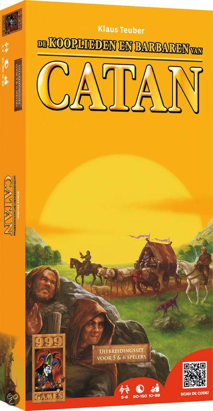 De Kolonisten van Catan: Kooplieden & Barbaren Uitbreidingset voor 5 of 6 Spelers