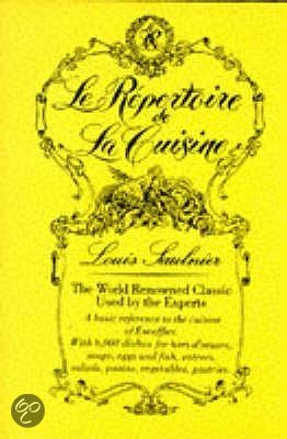 Le repertoire de la cuisine l saulnier l for Repertoire de la cuisine