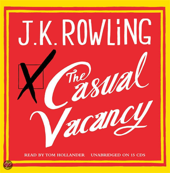 bolcom the casual vacancy jk rowling amp jk rowling