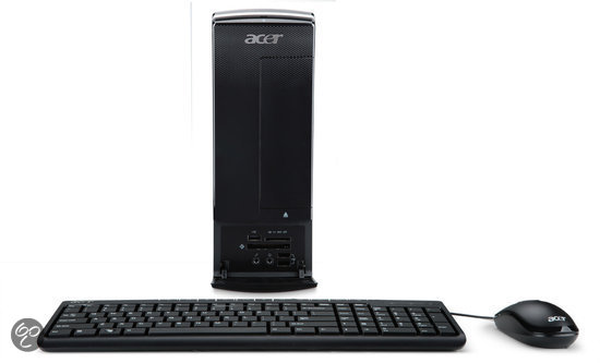 Acer Aspire X3990 - Core i3-2120 3.3 GHz / 6GB DDR3 RAM / 1TB HDD / NVIDIA 510 / QWERTY