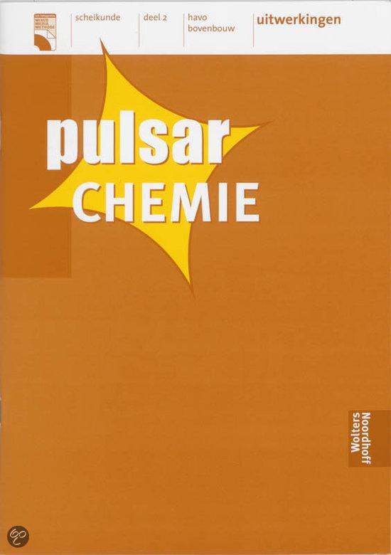 Pulsar chemie 2 havo bovenbouw deel uitwerkingen