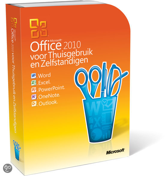 Microsoft Office Home And Business 2010 - 32-Bit/X64 / Nederlands / DVD