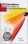 50 checklisten voor project en programma