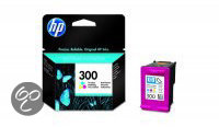 HP 300 - Inktcartridge Cyaan / Magenta / Geel - 3 pack