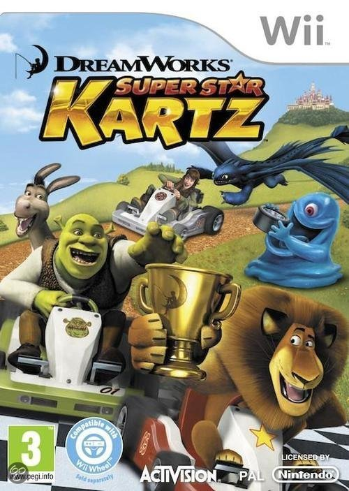 Dreamworks: Super Star Kartz