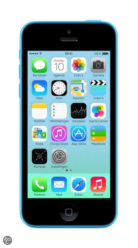 Smartphone APPLE IPHONE 5C BLEU 32GO
