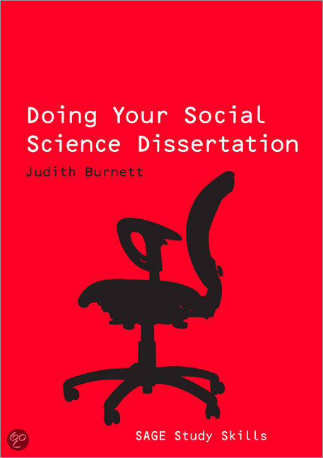 Writing the social science dissertation