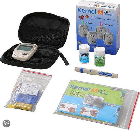 Testjezelf Multicheck Glucose & Cholesterolmeter Startpakket - 1 stuk - Cholesteroltest