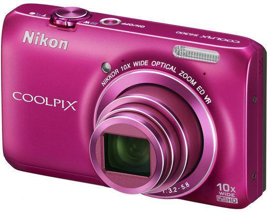 Nikon Coolpix S6300 - Roze