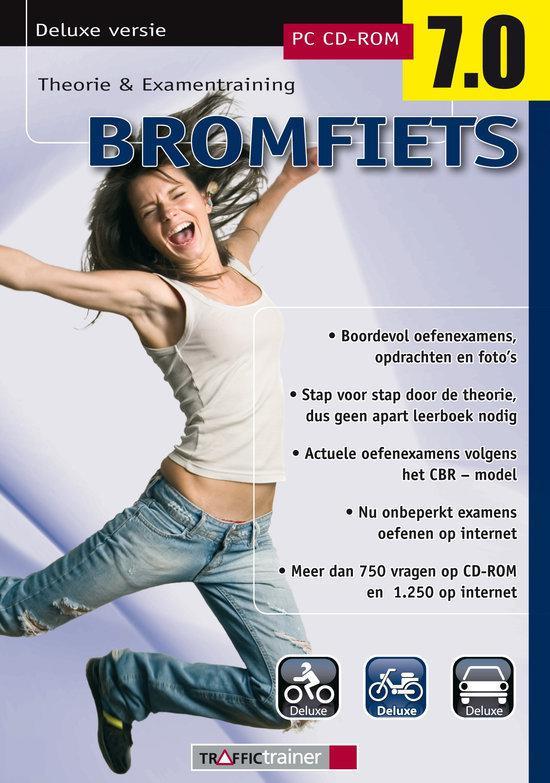 Educontract Bromfiets Theorie en Examen Training 7.0 Deluxe - Nederlands / Win