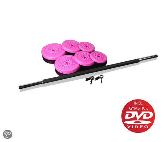 bol.com   Gymstick Halterset/Pumpset - Met DVD - 20 kg ...