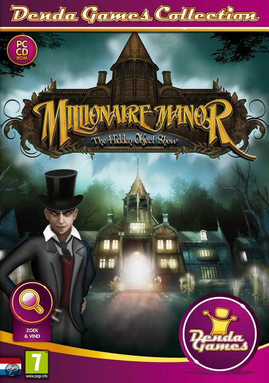 The Hidden Object Show 3, Millionaire Manor