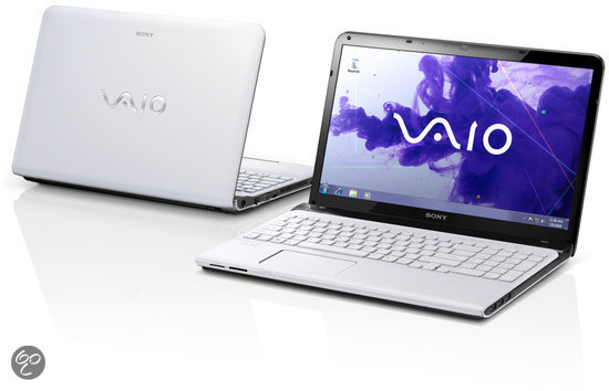 Sony Vaio SVE1511D1EW Laptop - Intel i3-2370M 2.4 GHz / 4GB DDR3 RAM / 500GB HDD / 15.5 inch / QWERTY