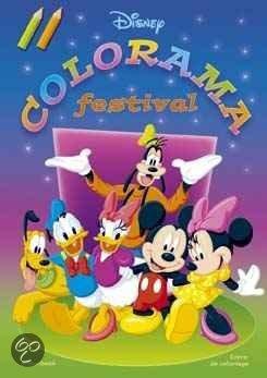 Cover van het boek 'Disney colorama festival'