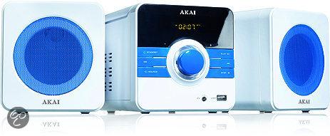 Akai AMD02BE - Microset - Blauw