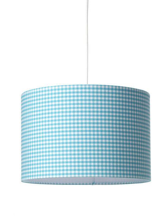 Coming Kids - Boerenbont Hanglamp - Aqua