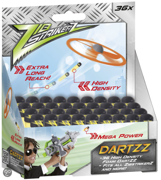 Zib Strikerz 36 Foam Dartpijlen