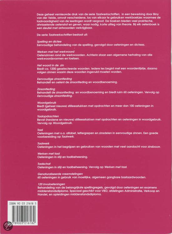 Engelse Keuken Woorden : com Spelling en dictee, G.J. van der Keuken 9789003216182 Boeken