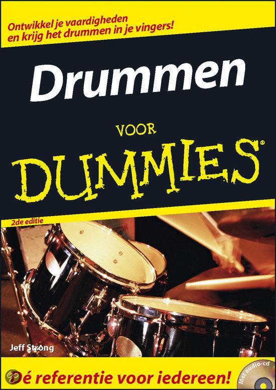 Drummen voor Dummies + CD