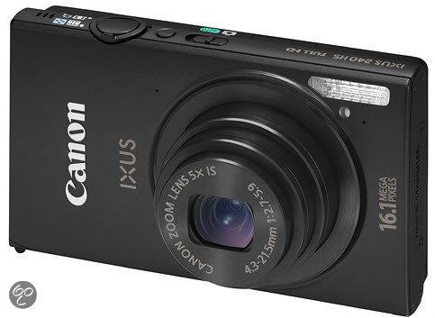 Canon IXUS 240 HS - Zwart