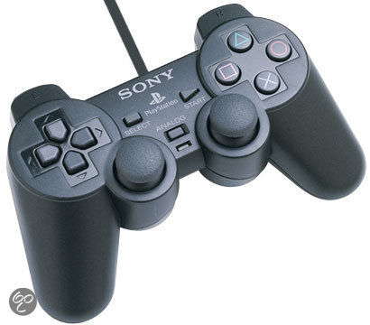 Sony PlayStation Dualshock Controller Zwart PS2