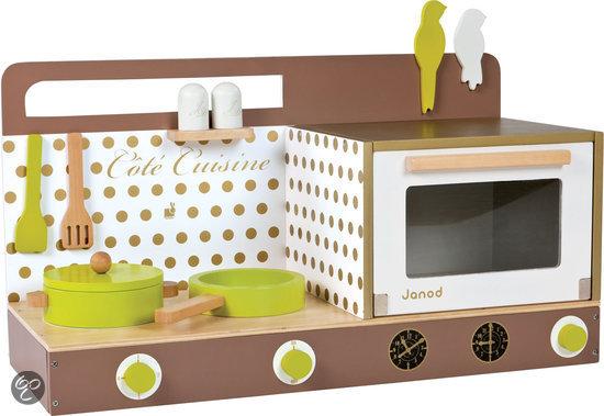 Speelgoed Keuken Maken : com Janod Keukentje Tafelmodel Incl. 7 Accessoires,Janod Speelgoed