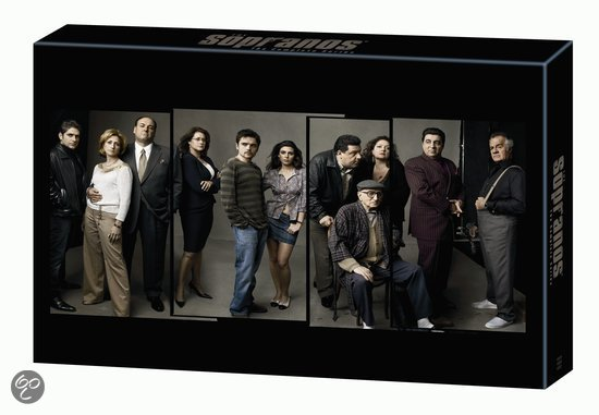 Sopranos - Seizoen 1 t/m 6 Complete Collection (30DVD)