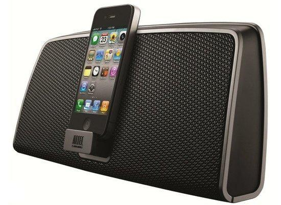 Altec Lansing iMT630 - Docking station - Zwart