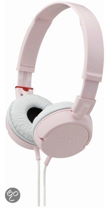Sony MDR-ZX100 - On-Ear Koptelefoon - Roze