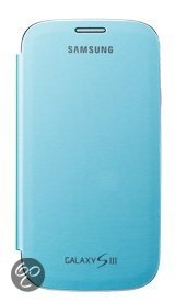 Samsung Flip Cover voor de Samsung Galaxy S3 - Lichtblauw