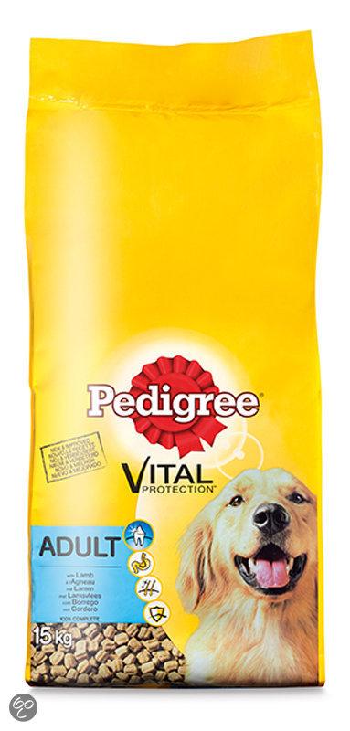pedigree vital protection adult hondenvoer droog lam 15 kg dier. Black Bedroom Furniture Sets. Home Design Ideas