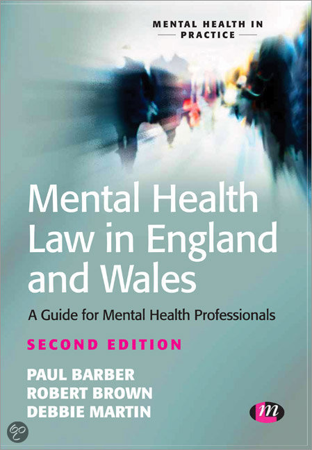Bol Com Mental Health Law In England And Wales Paul border=