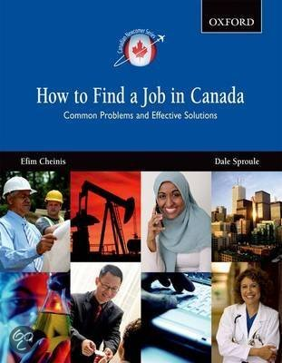 a report on how to find a job in canada common problems and effective solutions canadian new comer s Be the solution you can  assessment is a report provided to the newcomer   canadian employers seem to show a strong preference for hiring job applicants.