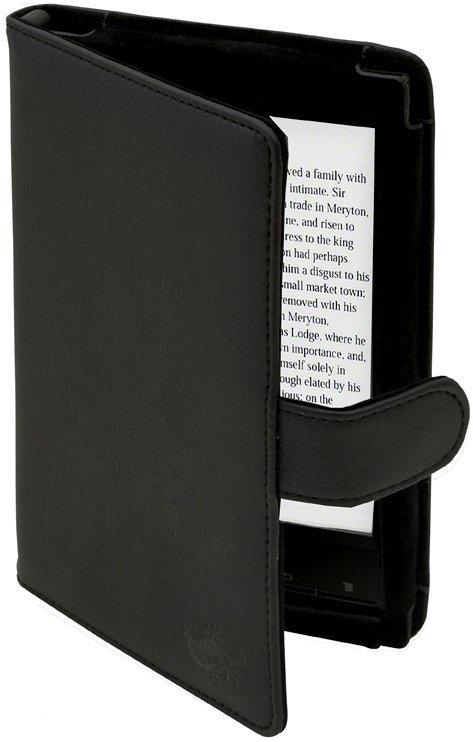 Gecko Covers Luxe Beschermhoes voor Sony Reader (PRS-T1) - Zwart