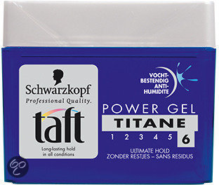 bol com taft styling power titane pot 250 ml gel