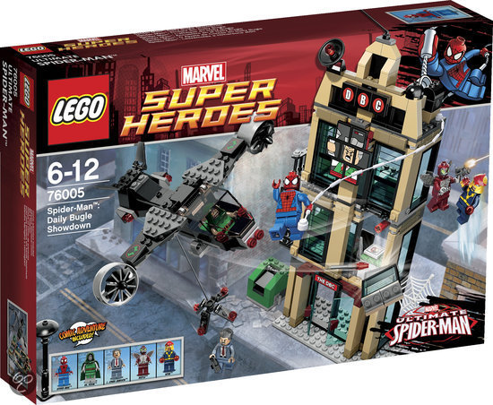 LEGO Super Heroes Daily Bugle Showdown - 76005