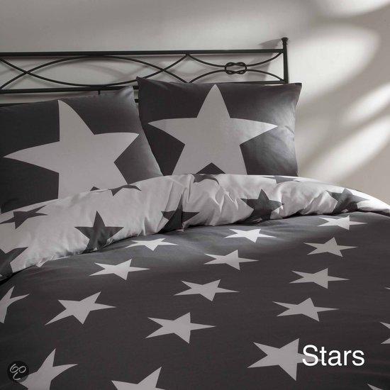 bol com   Day Dream Stars dekbedovertrek   eenpersoons   140×200  220   Grijs   Wonen