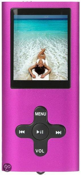 Difrnce MP1850 - MP3 speler - 8 GB - Roze