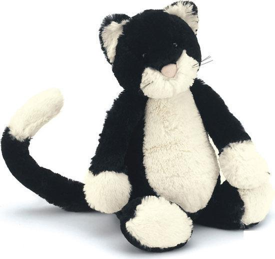 Jellycat Bashful Black And White Cat