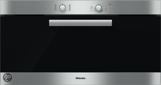 miele h6090bclst inbouw oven 90 cm breed roestvrij staal. Black Bedroom Furniture Sets. Home Design Ideas