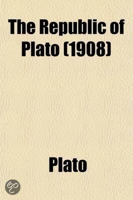 The Republic of Plato Volume 1