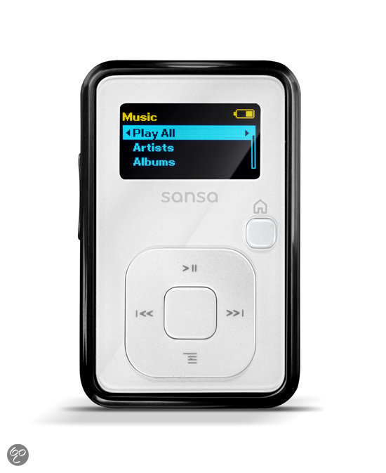 Sandisk Sansa Clip+ mp3-speler - 4 GB - Wit