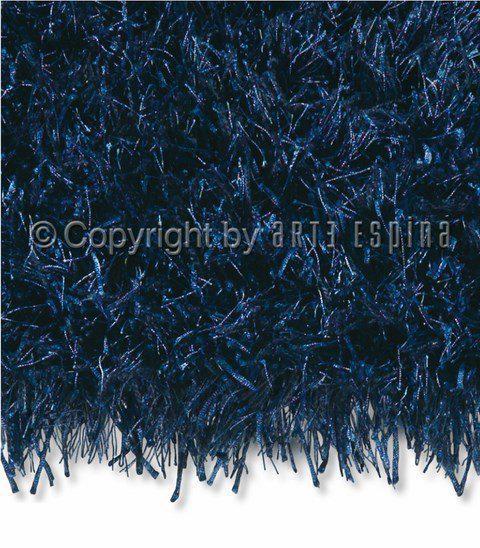 Arte Espina Hoogpolig Vloerkleed Shaggy Beat - Donker Blauw 170 X 240 cm