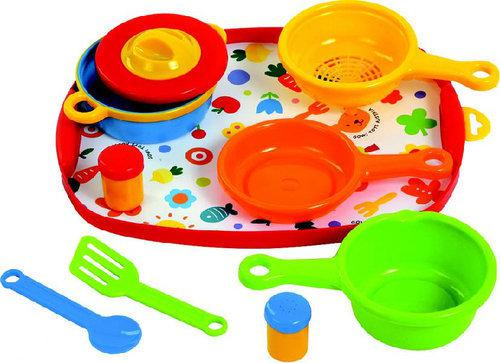 Keuken Kind Hema : bol.com Gowi Kookset met Dienblad – 10-delig Speelgoed