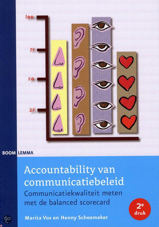 Accountability van communicatiebeleid