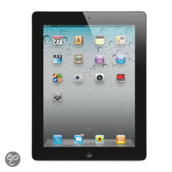 Apple iPad 2 met Wi-Fi 16 GB - Zwart