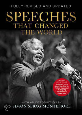 written speeches that changed the world The five most inspirational speeches of our the song was originally written creative genius and revolutionary innovator who has transformed the world and.